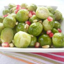 Pressure Cooker Brussels Sprouts