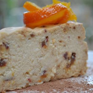 "Jennadene's Pressure Cooker ""Baked"" Orange and Date Ricotta Cake"