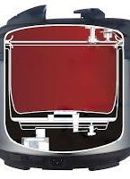 inside an electric pressure cooker