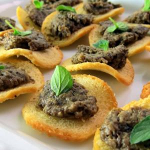 Fancy in a FLASH! Pressure Cooker Porcini Mushroom Pate'