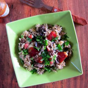 pressure cooker dirty rice one pot meal