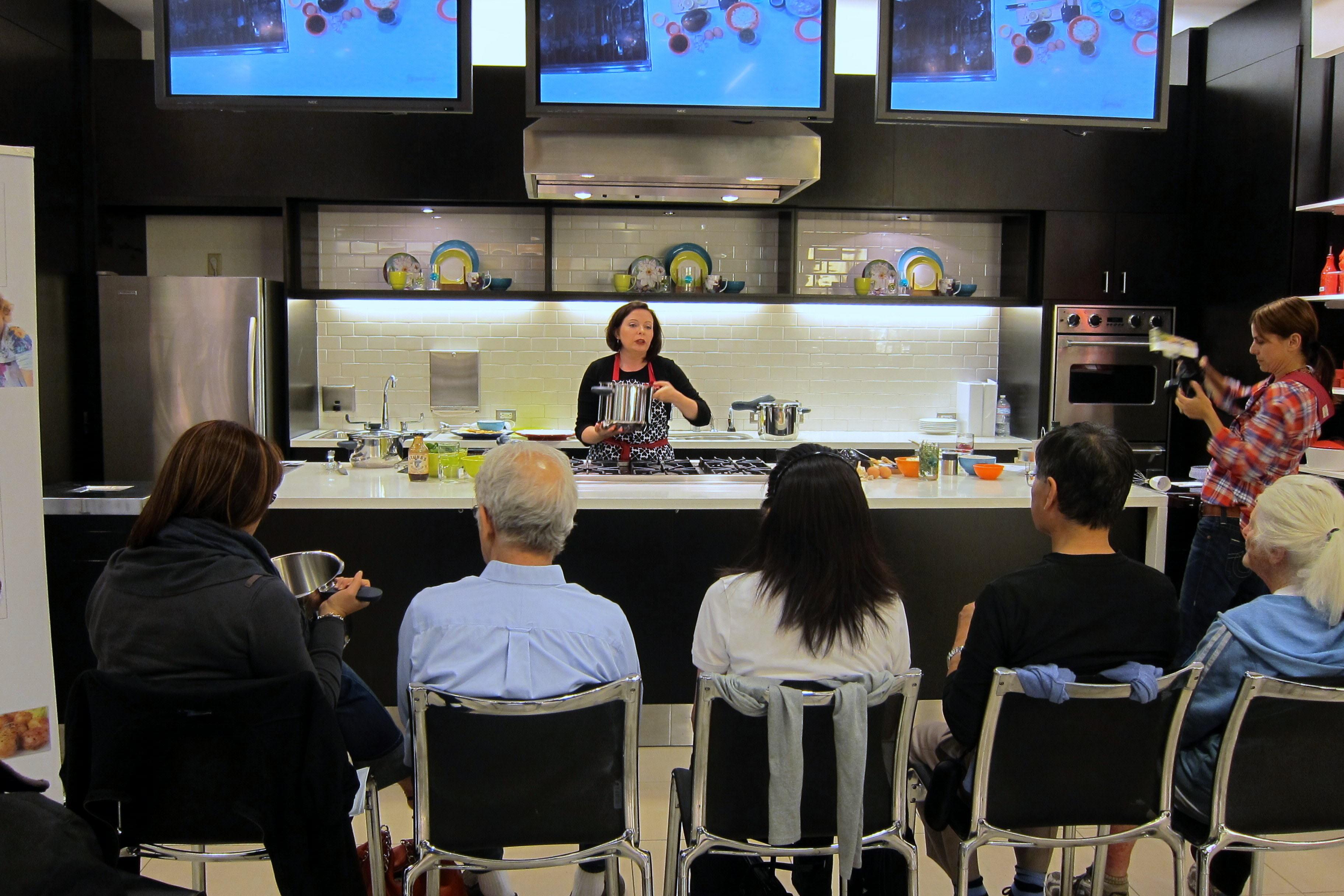 Bloomingdale's Demo Kitchen in San Francisco
