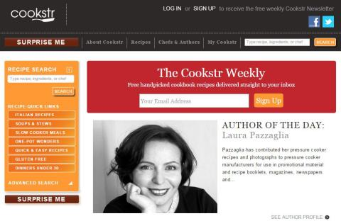 Cookstr Author of the Day
