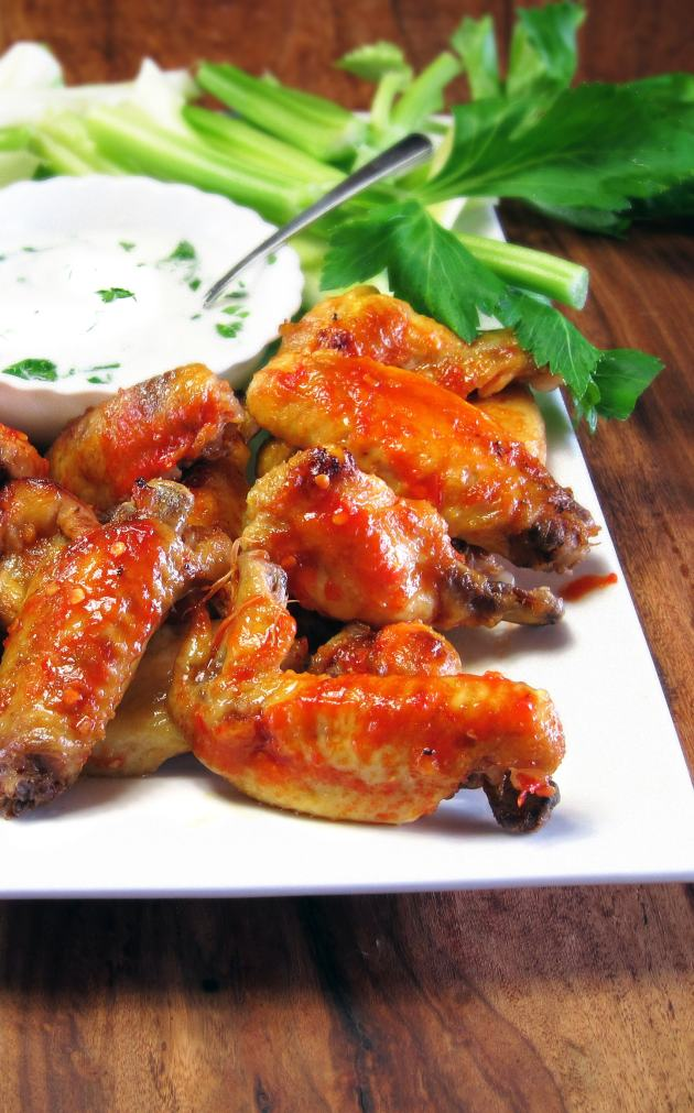 Spicy Pressure Cooked Chicken Wings