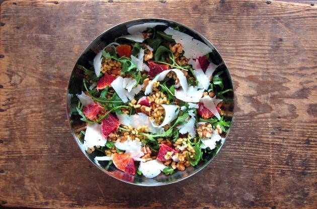 Pressure Cooker Kamut Salad