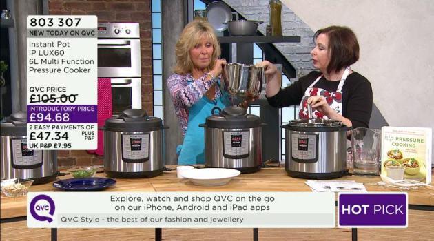 Instant Pot QVC UK Pressure Cooker Demo ⋆ hip pressure cooking