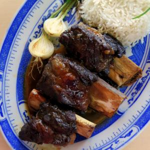 Pressure Cooker Beef Ribs - Asian Style