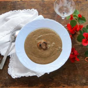 Cozy Cream of Mushroom Soup