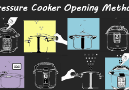 Pressure Cooker Pressure Release methods - Normal/Quick, Slow Normal, 10-min Natural, and Natural