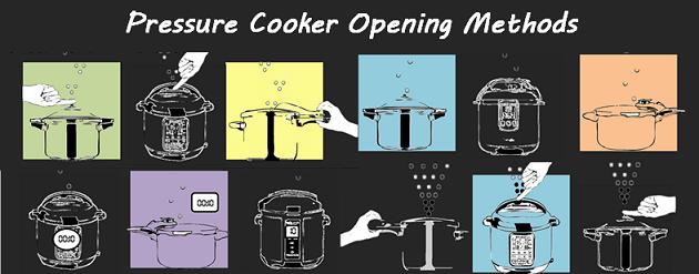 Pressure Cooker Pressure Release Methods