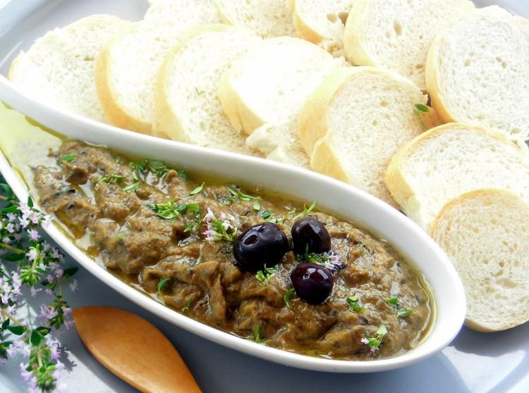 Pressure Cooker Instant Pot Eggplant Dip Babaganush
