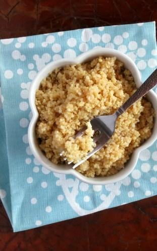 EASY Pressure Cooker Quinoa
