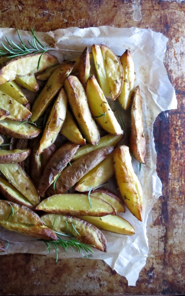 Set it and Forget it Toaster Oven Fries