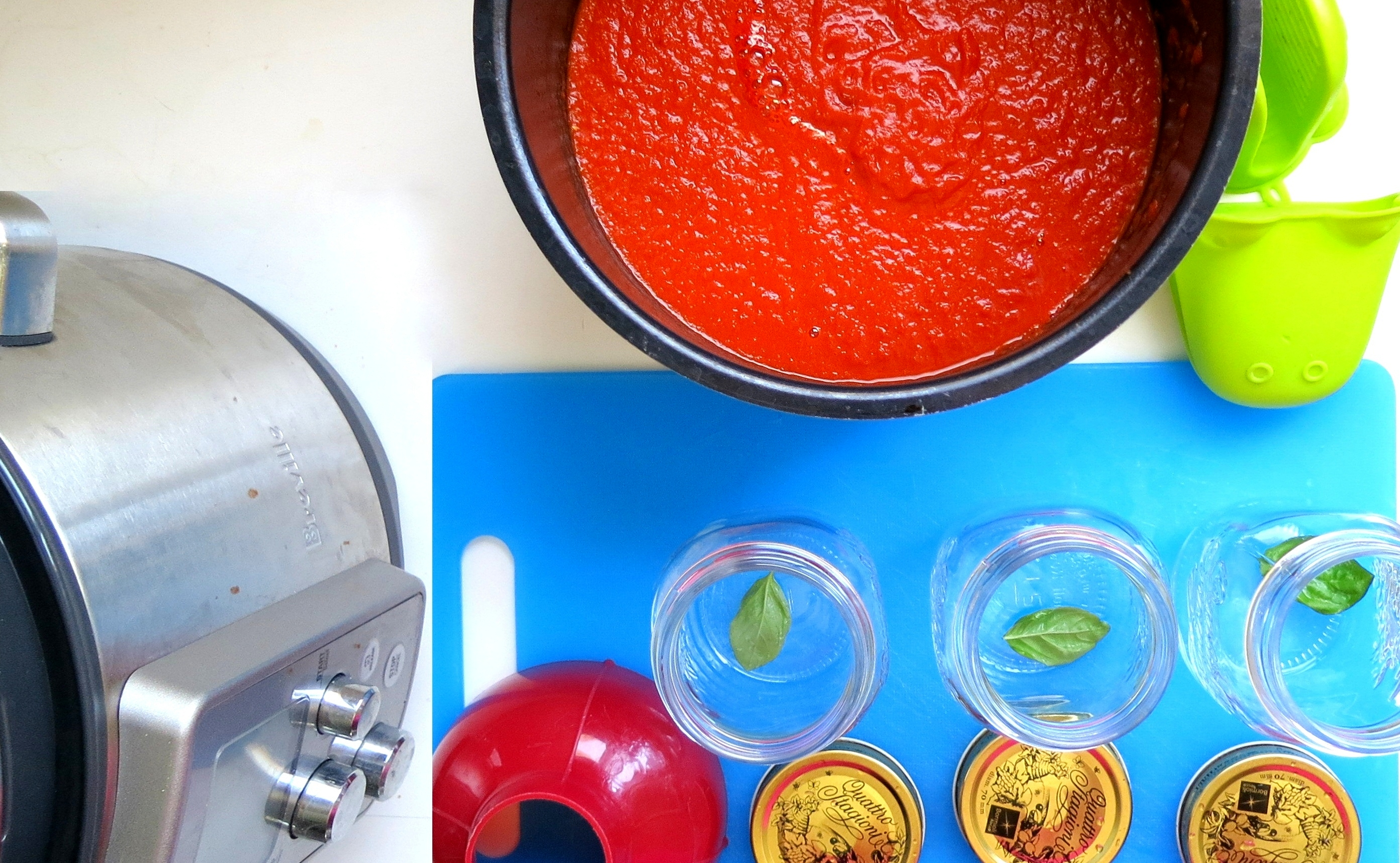 Large Batch Tomato Sauce -Pressure Cook 6 Pounds at Once! ⋆ hip pressure  cooking
