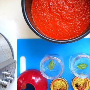 Pressure Cookere Large Batch Tomato Sauce