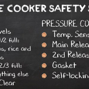 The Pressure Cooker's Safety Systems – Pressure Cooking School