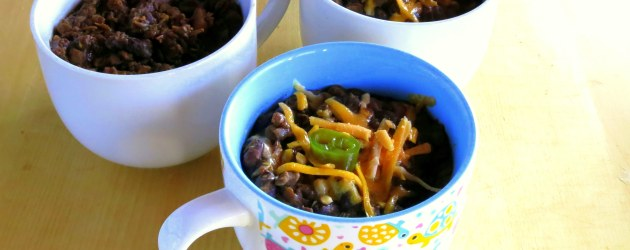 Black Bean and Lentil Chili Recipe