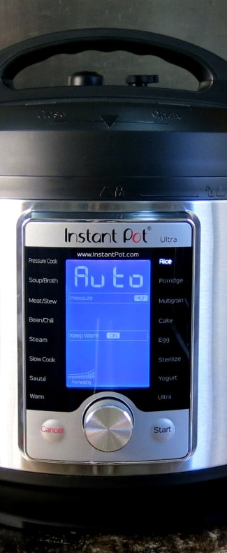 Instant Pot ULTRA - Programs and Functions