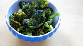 Pressure Steamed Broccoli