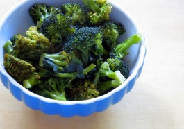 Pressure Steamed Broccoli