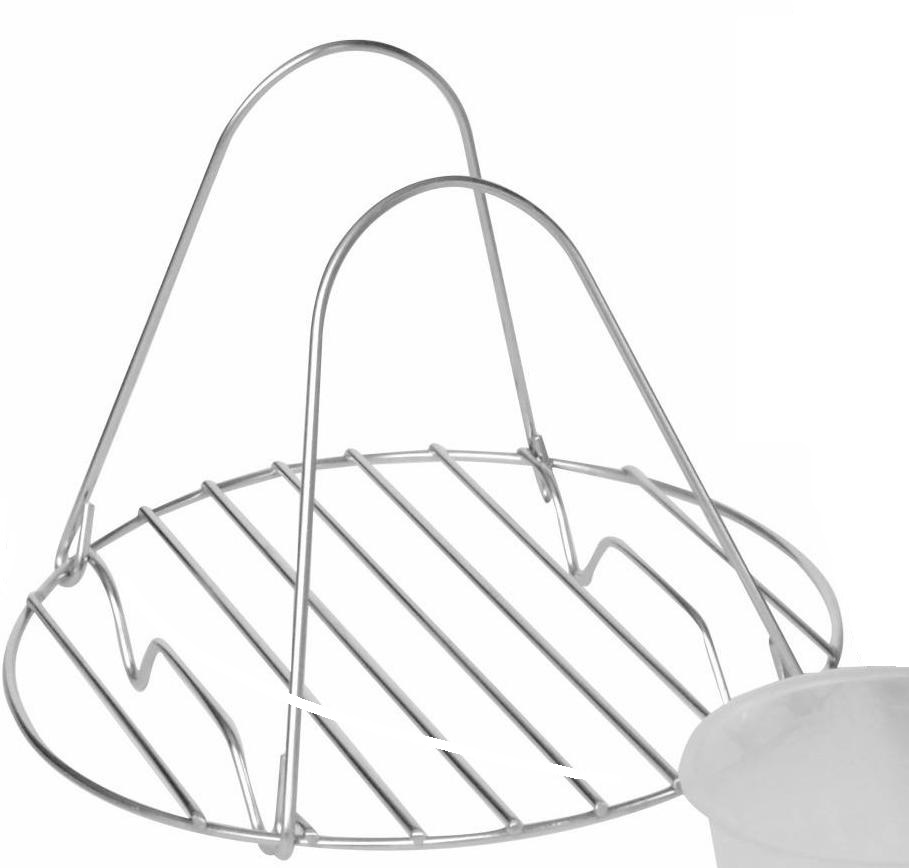 pressure cooker wire rack with handles