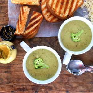 Skinny Cream of Broccoli Soup – Easy Pressure Cooker Recipe