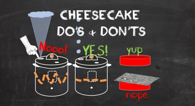 pressure cooker 7 Instant Pot cheescake do's and don'ts