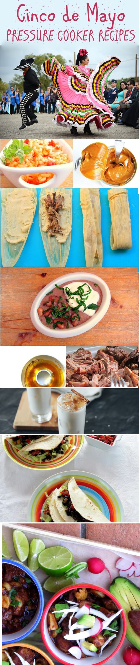 Instant Pot and Pressure Cooker Mexican Recipes - Cinco de Mayo!