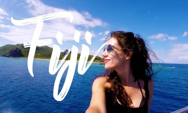 Fiji Arrival & Boat Tour Vlog