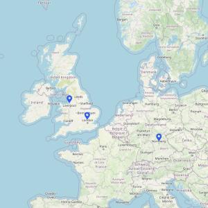 Data Centre Map