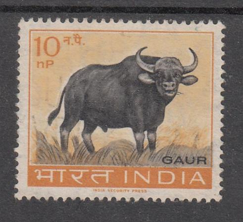 XG AK737 INDIA IND   Literature  1966 Tamil Poet Kambar MNH Set     India 1963   362 Gaur Mammals Used 03659 SD