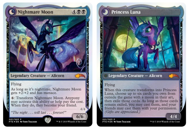 Image result for nightmare moon mtg