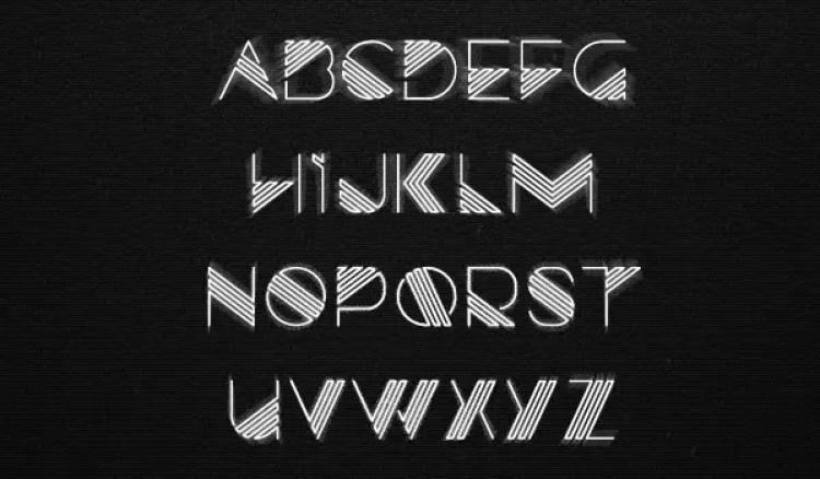 Razor Free 80's Fonts
