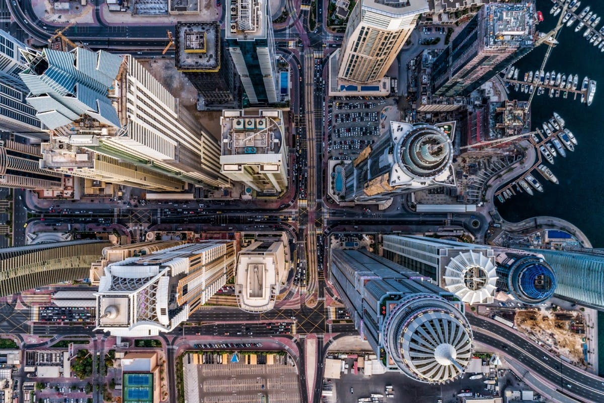 Drone Photography Contest 2017 Winner - Urban by bachirm