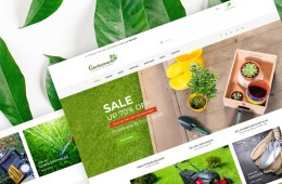 Garden Equipment WooCommerce Theme