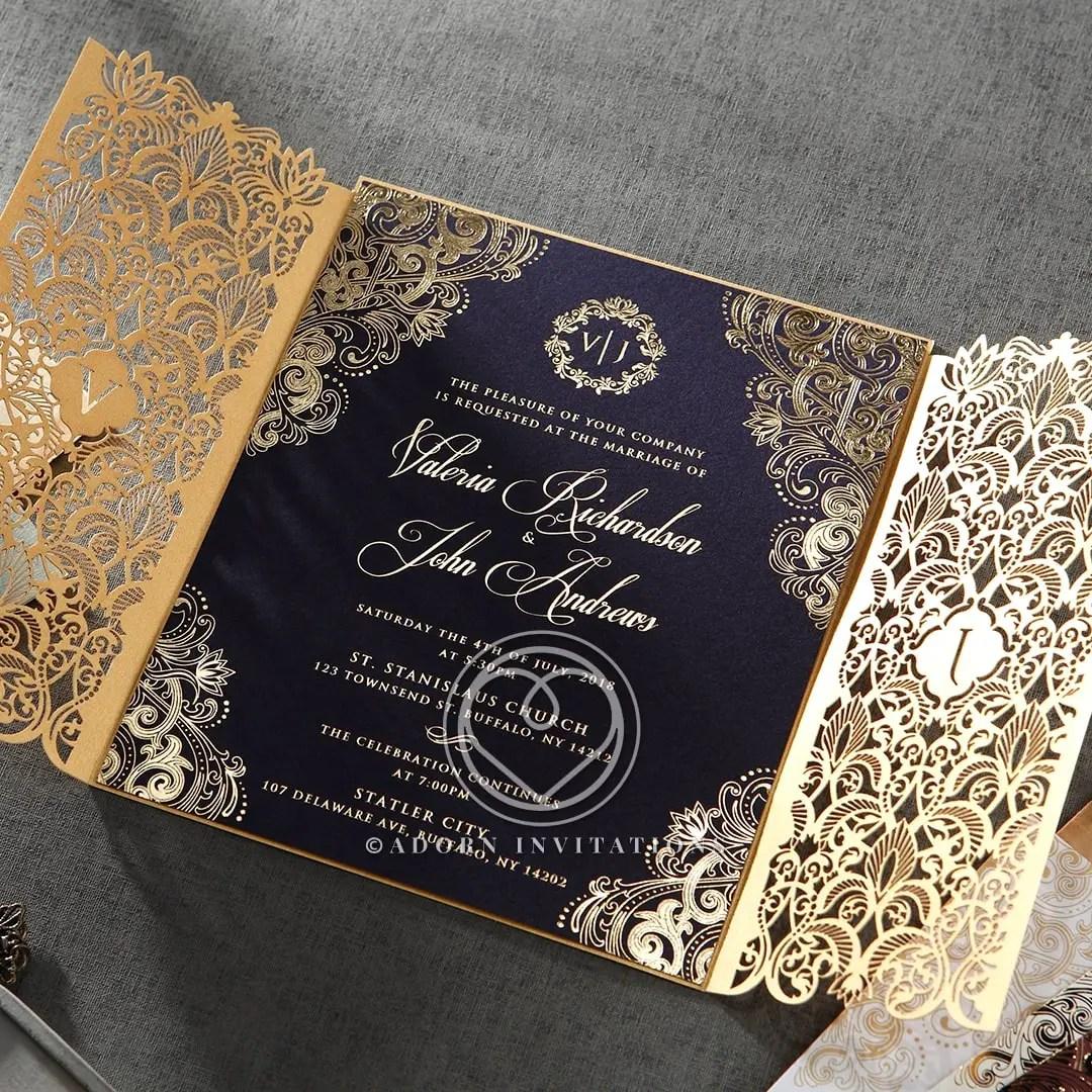 20 Gorgeous Wedding Invitation Designs 2018