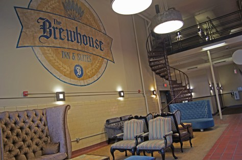 Custom Furniture at Brewhouse Inn & Suites