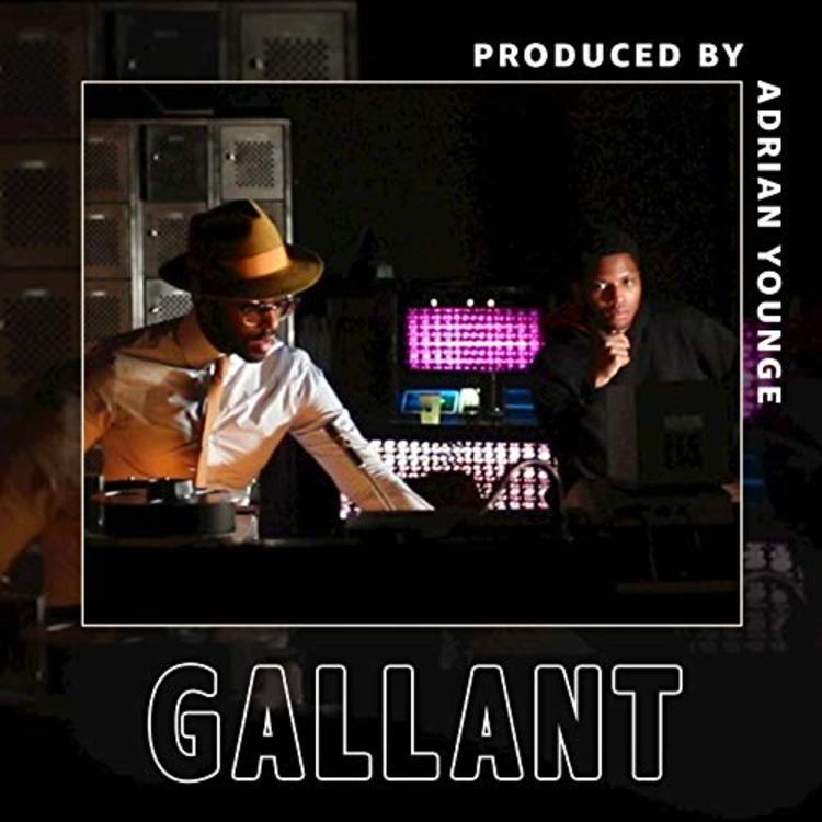 "Gallant and Adrian Younge team up for their new song, ""Strobe Lights."""