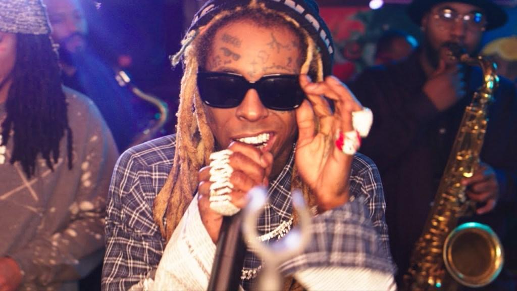 Lil Wayne – Playoff ft. Poppy H, Corey Henry & The Treme Funktet (Video)