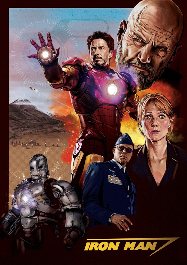 iron man poster hire an illustrator