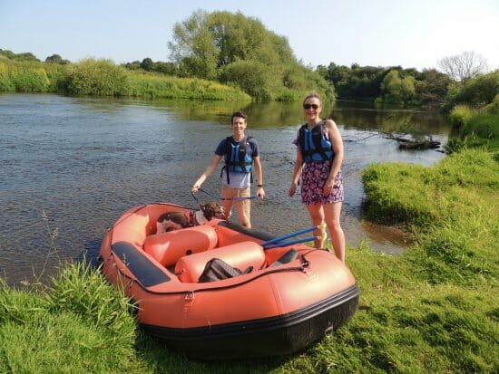 mini-raft hire for couples