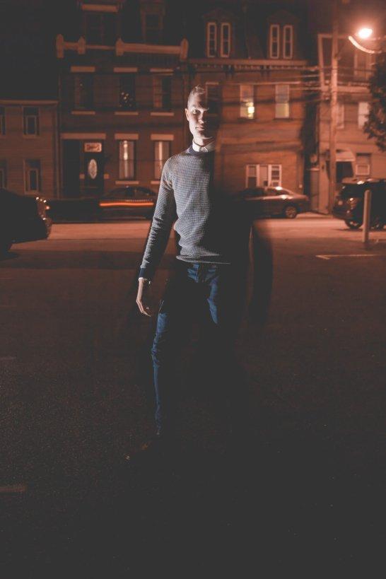 Night Shooting   Off Camera Flash Experiment   Awkward Eye Photography
