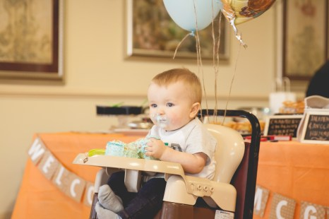 Bennetts First Birthday Party-47