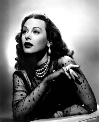 1940s Fashion Icon  Hedy Lamarr