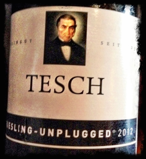 Tesch Riesling Unplugged. The purest expression possible