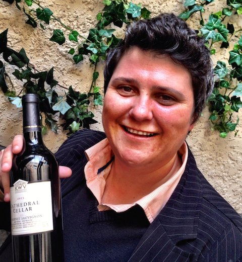 KWV's dynamic young winemaker Izele Van Blerk