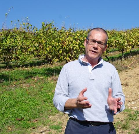 Terras Gauda winemaker Emilio Rodríguez Canas