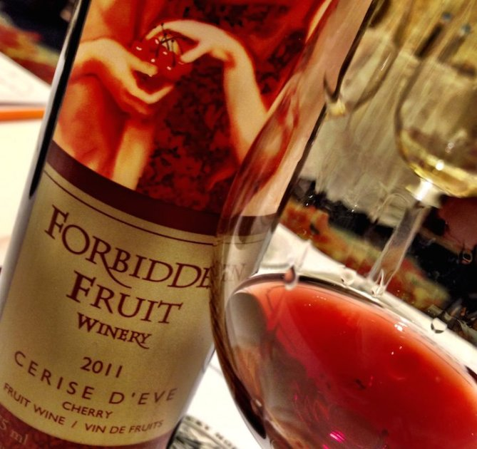 Forbidden Fruit's remarkable Cerise d'Eve, from the Similkameen Valley
