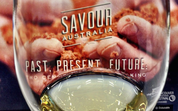 Savour Australia: Past, Present & Future: a pretty interesting range of wines right through the week