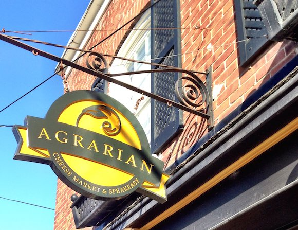 The Agrarian Cheesemarket & Speakeasy in Bloomfield—a good spot to discover local flavours on every level